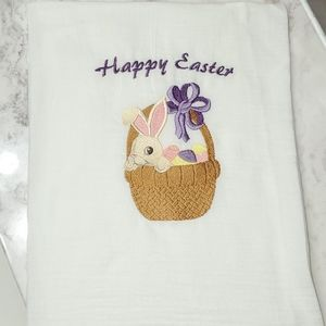 Decorative towel - happy easter